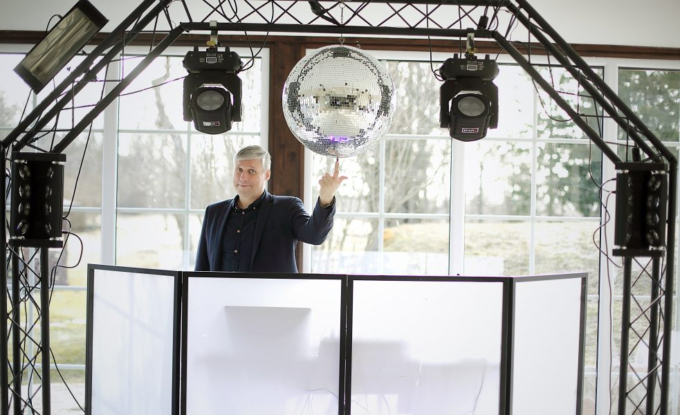 Renginių vedėjas, DJ